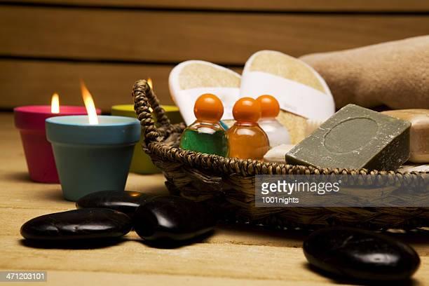 Arrangement des health spa Ausstattung