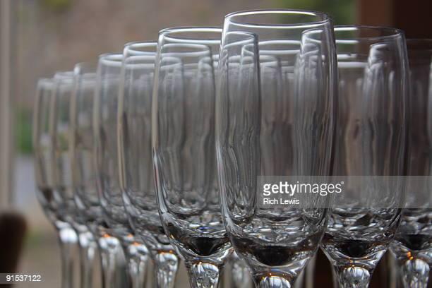 Arrangement of Wine Glasses