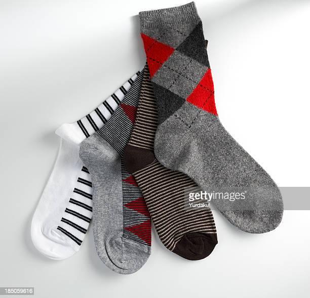 arrangement of winter socks