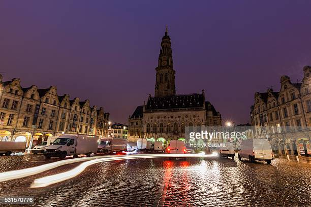 arras town hall on place des heros - アラス ストックフォトと画像