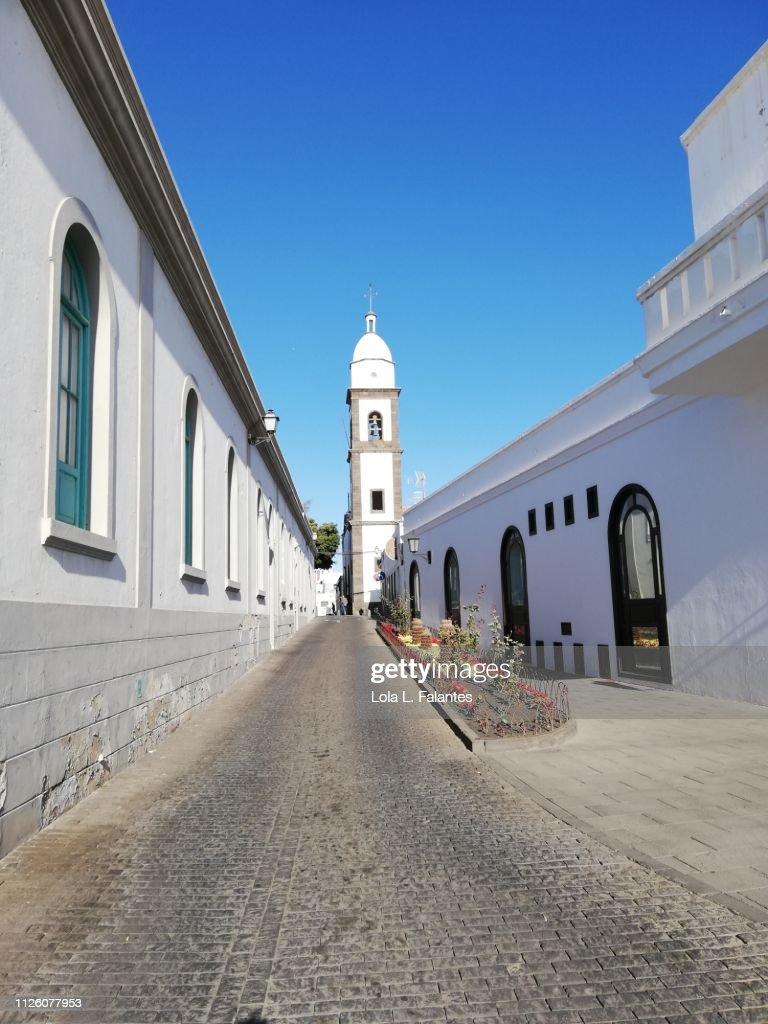 Arrecife street : Foto de stock