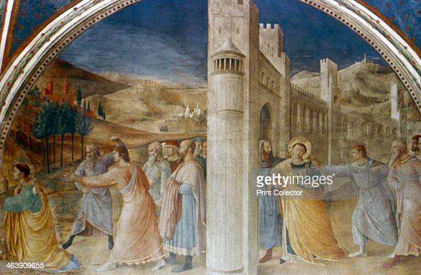 'Arrest and Stoning of St Stephen' mid 15th century St Stephen a deacon of the early Christian church in Jerusalem was found guilty of blasphemy by...