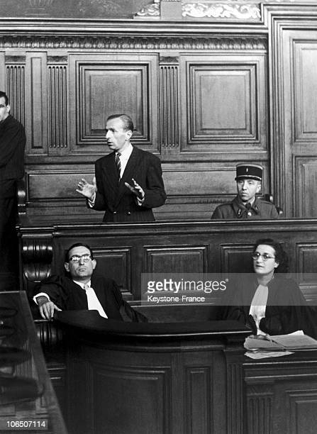 Arrested And Convicted In Fresnes On July 8 The FarRight Journalist Was Trialed And Sentenced To Death On September 17 1945 The Indictment Had No...