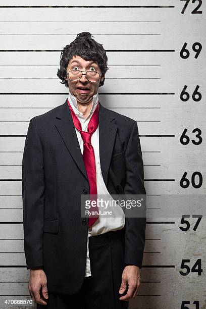 Business Mann Mugshot verhaftet