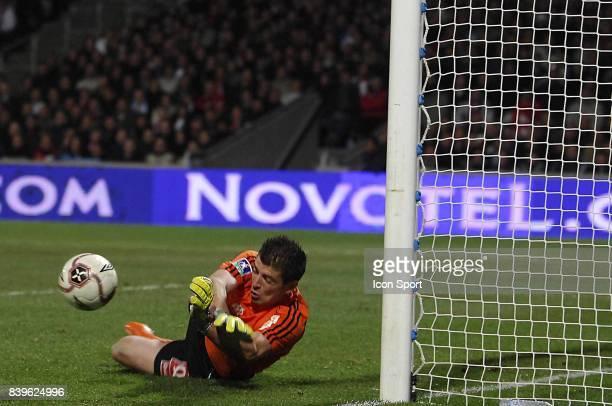 Arret de Cedric CARRASSO Lyon / Marseille 28eme journee de Ligue 1