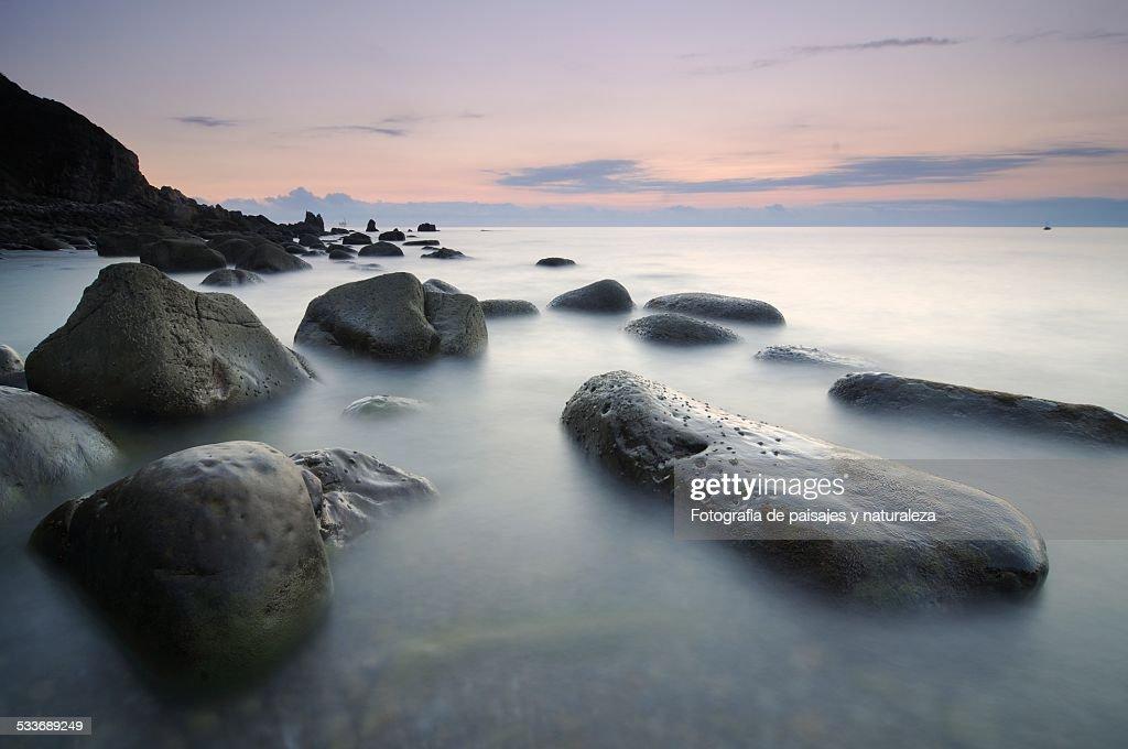 Arribolas beach : Foto stock