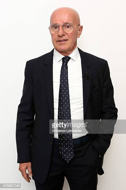 Arrigo Sacchi attends the 'Quelli Che Il Calcio' Tv Show on April 19 2015 in Milan Italy