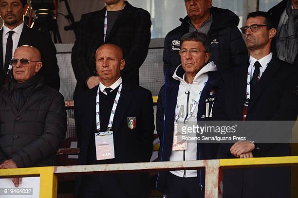 Arrigo Sacchi during the UEFA European Under17 Championship Qualifier between Italy and Serbia at Stadio Bruno Benelli on October 31 2016 in Ravenna...
