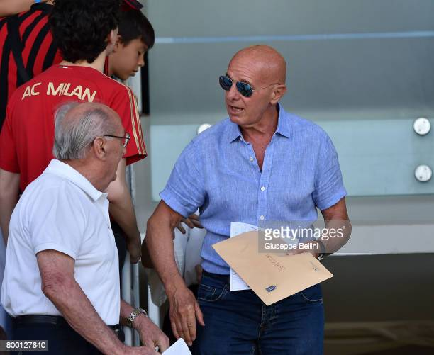 Arrigo Sacchi of FIGC prior the U16 Serie A Final match between AS Roma and AC Milan on June 23 2017 in Cesena Italy