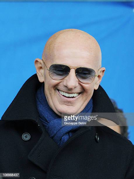 Arrigo Sacchi of Italy during the U21 international friendly match between Italy and Turkey at Stadio Bruno Recchioni on November 17 2010 in Fermo...