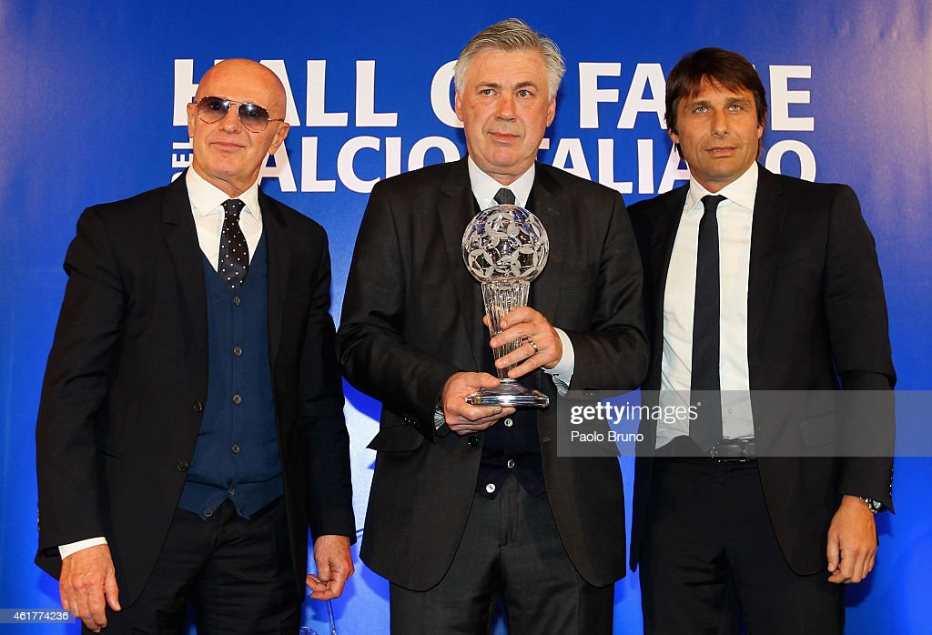 Italian Football Federation Hall Of  Fame : News Photo