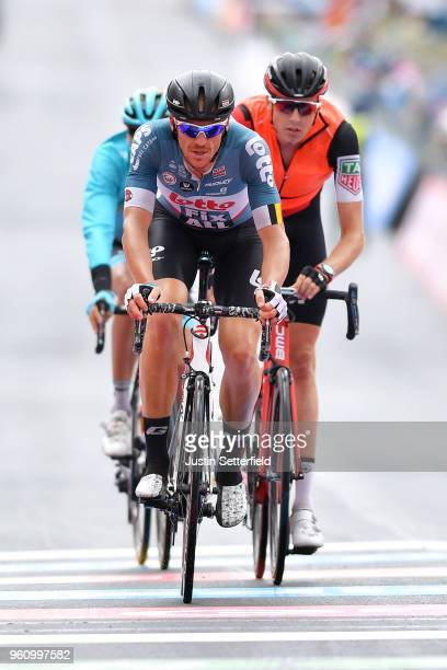 Arrival / Adam Hansen of Australia and Team Lotto Soudal / during the 101st Tour of Italy 2018 Stage 15 a 176km stage from Tolmezzo to Sappada 1240m...