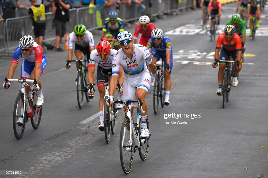 Cycling: 105th Tour de France 2018 / Stage 21 : ニュース写真