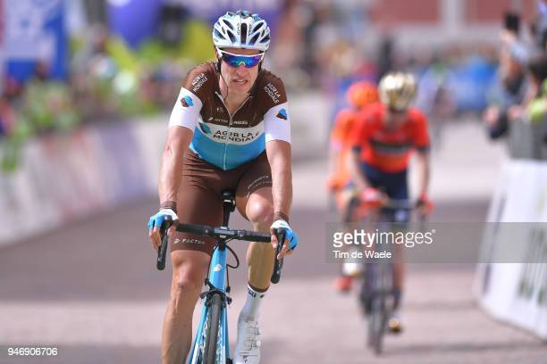 Arrival / Alexandre Geniez of France and Team AG2R La Mondiale / during the 42nd Tour of the Alps 2018, Stage 1 a 134,6km stage from Arco to Folgaria...