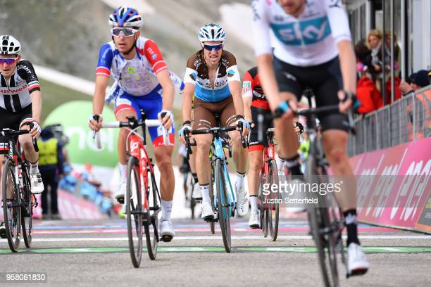 ITALIA CAMPO IMPERATORE ITALY MAY 13 Arrival / Alexandre Geniez of France and Team AG2R La Mondiale / during the 101th Tour of Italy 2018 Stage 9 a...