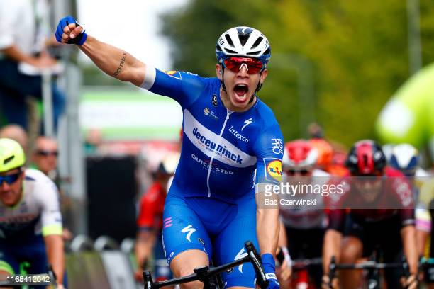 Arrival / Alvaro Jose Hodeg Chagui of Colombia and Team Deceuninck-QuickStep / Celebration / during the 15th Binck Bank Tour 2019, Stage 5 a 191,4km...