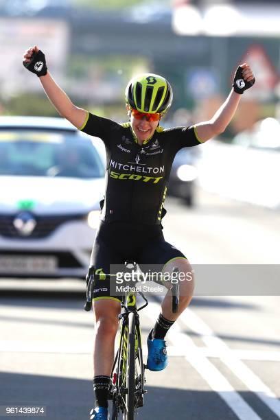 Arrival / Amanda Spratt of Australia and Team Mitchelton-Scott / Celebration / during the 31st Women WT Emakumeen. Bira 2018, Stage 4 a 120km stage...