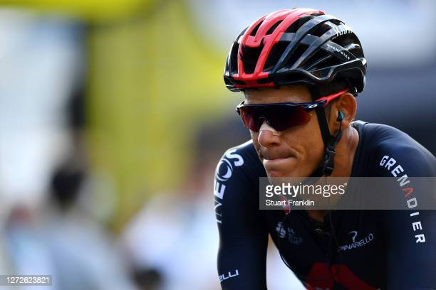 Arrival / Andrey Amador Bikkazakova of Costa Rica and Team INEOS Grenadiers / during the 107th Tour de France 2020, Stage 16 a 164km stage from La...