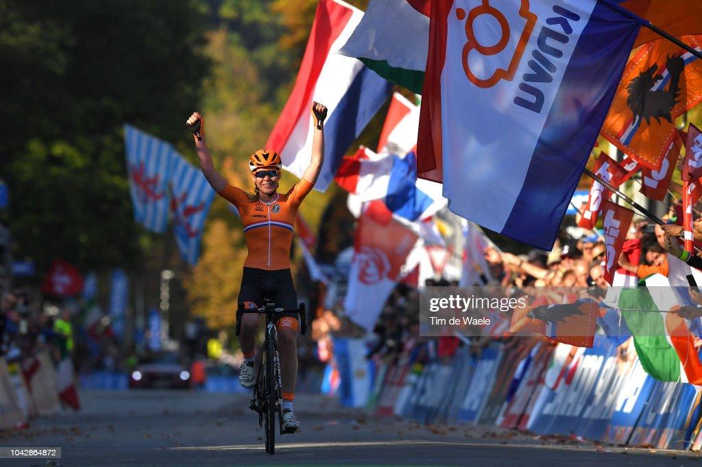 91st UCI Road World Championships 2018 - Women Elite Road Race : News Photo