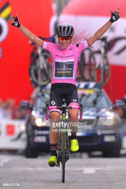 Start / Patrick Ryan of Australia and Team Mitchelton Scott / Mechanic /Staff / during the 29th Tour of Italy 2018 Women Stage 10 a 1203km stage from...