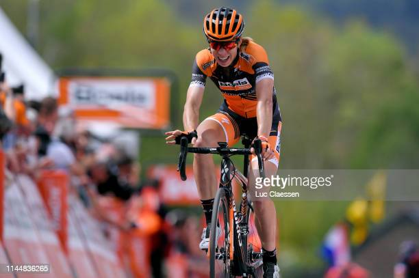 Arrival / Annika Langvad of Denmark and Boels Dolmans Cycling Team / during the 22nd La Fleche Wallonne 2019, Women Elite a 118,5km race from Huy to...