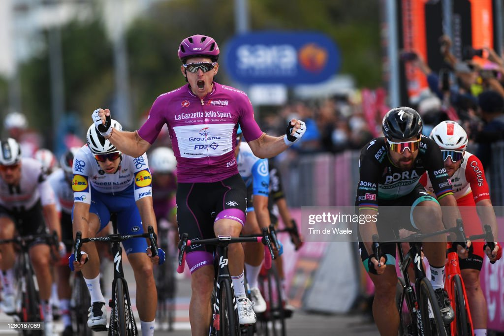 103rd Giro d'Italia 2020 - Stage Eleven : News Photo