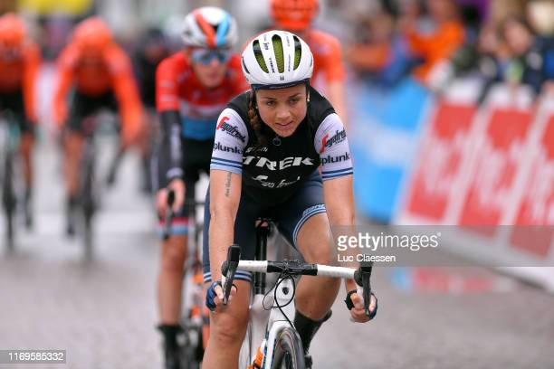 Arrival / Audrey Cordon-Ragot of France and Team Trek-Segafredo Women / during the 6th Ladies Tour of Norway 2019, Stage 1 a 128km stage from...