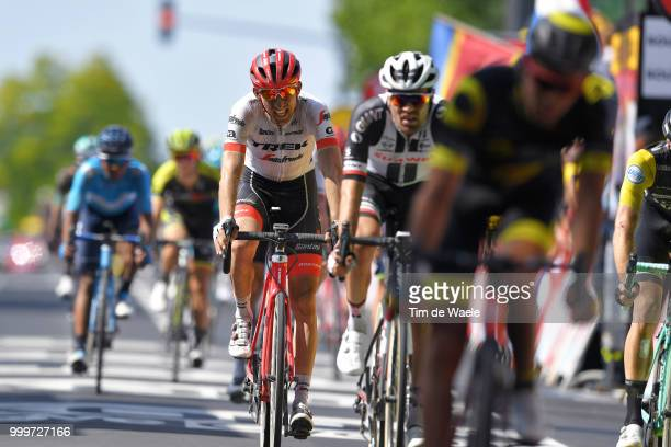 Arrival / Bauke Mollema of The Netherlands and Team Trek Segafredo / during the 105th Tour de France 2018 Stage 9 a 1565 stage from Arras Citadelle...