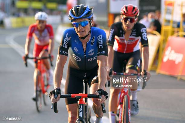 Arrival / Benjamin King of The United States and NTT Pro Cycling Team / during the 77th Tour of Poland 2020, Stage 4 a 173km stage from Bukovina...