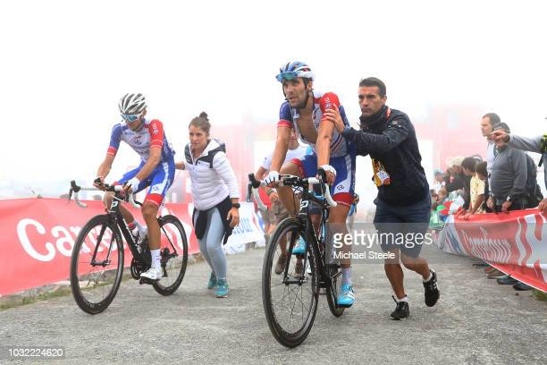 Arrival / Benjamin Thomas of France and Team Groupama FDJ / Thibaut Pinot of France and Team Groupama FDJ / during the 73rd Tour of Spain 2018, Stage...