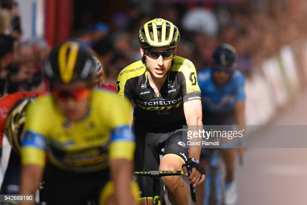 Arrival / Carlos Verona Quintanilla of Spain and Team MitcheltonScott / during the 58th Vuelta Pais Vasco 2018 Stage 5 a 1647km stage from...