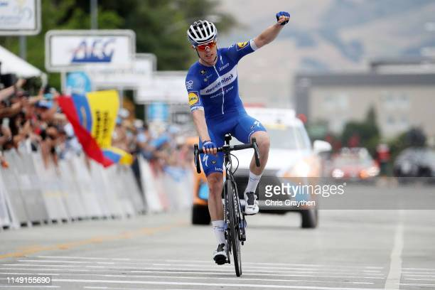 Arrival / Celebration / ß of France and Team Deceuninck QuickStep / during the 14th Amgen Tour of California 2019 Stage 3 a 208km stage from Stockton...