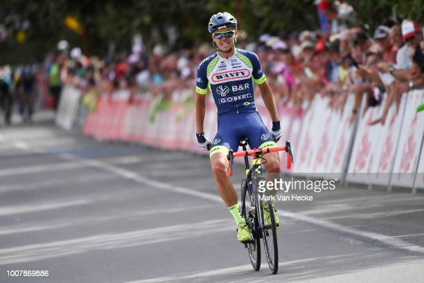 Arrival / Christian Eiking Odd of Norway and Team Wanty Groupe Gobert / Celebration / during the 39th Tour Wallonie 2018, Stage 3 a 169,2km stage...