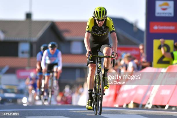 Arrival / Damien Howson of Australia and Team Mitchelton-Scott / Celebration / during 2nd Velon Hammer Series 2018, Stage 1 a 79,2km stage from...