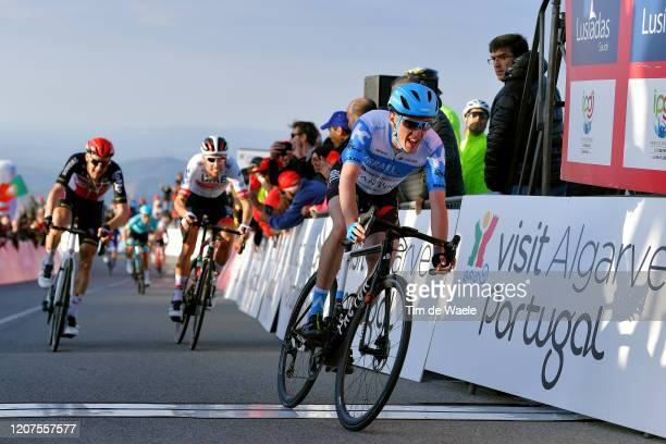Arrival / Dan Martin of Ireland and Team Israel Start-Up Nation / Rui Costa of Portugal and UAE-Team Emirates / Tim Wellens of Belgium and Team Lotto...