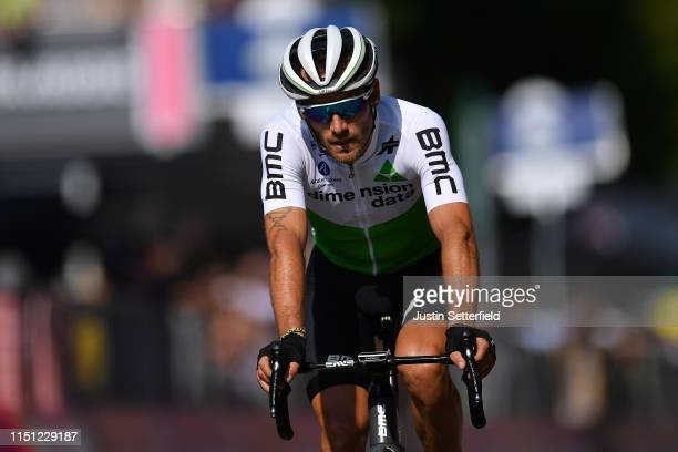 Arrival / Danilo Wyss of Switzerland and Team Dimension Data / during the 102nd Giro d'Italia 2019, Stage 12 a 158km stage from Cuneo to Pinerolo...