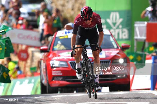 Arrival / David de la Cruz of Spain and Team Ineos / during the 74th Tour of Spain 2019 Stage 6 a 1989km stage from Mora de Rubielos to Ares del...