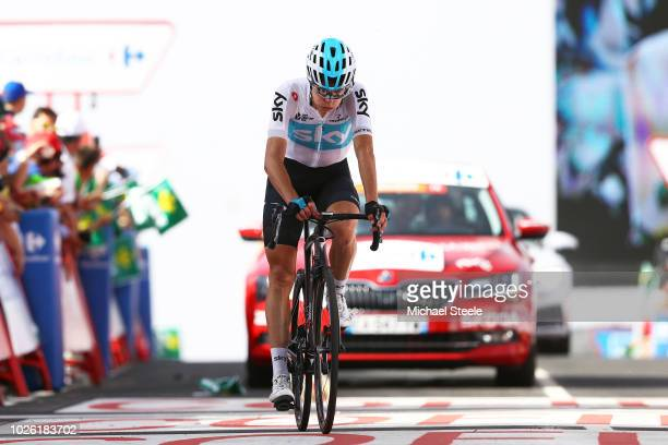 Arrival / David De La Cruz of Spain and Team Sky / Disappointment / during the 73rd Tour of Spain 2018 Stage 9 a 2008km stage from Talavera de la...