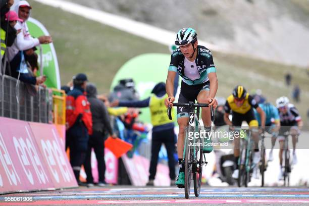 Arrival / Davide Formolo of Italy and Team Bora-Hansgrohe / during the 101th Tour of Italy 2018, Stage 9 a 225km stage from Pesco Sannita to Gran...
