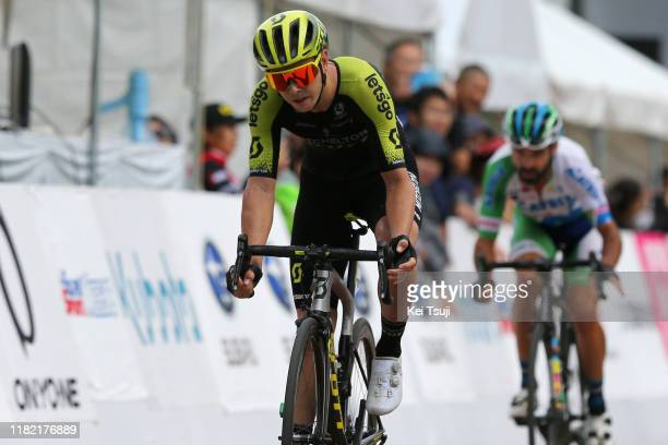 Arrival / Dion Smith of New Zealand and Team Mitchelton - Scott / during the 28th Japan Cup 2019, Cycle Road Race a 144,2km race from Utsunomiya to...