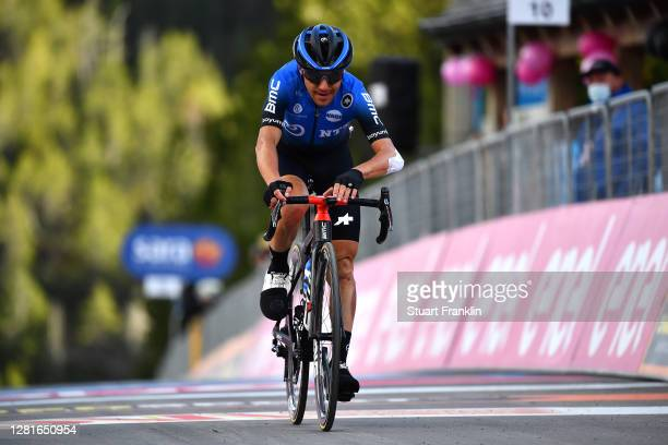 Arrival / Domenico Pozzovivo of Italy and NTT Pro Cycling Team / during the 103rd Giro d'Italia 2020, Stage 18 a 207km stage from Pinzolo to Laghi di...