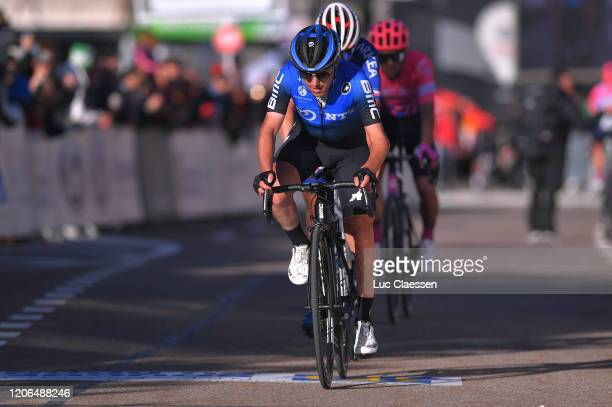 Arrival / Domenico Pozzovivo of Italy and Team NTT Pro Cycling / during the 5th Tour de La Provence 2020 Stage 3 a 1435km stage from Istres to Chalet...