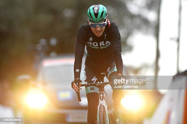 Arrival / Emanuel Buchmann of Germany and Team BoraHansgrohe / during the 28th Mallorca Challenge 2019 Trofeo Serra de Tramuntana a 1793km race from...
