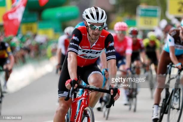 Arrival / Fabio Felline of Italy and Team Trek-Segafredo / during the 83rd Tour of Switzerland, Stage 2 a 159,6km stage from Langnau im Emmental to...