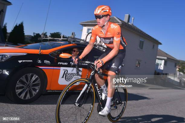 Arrival / Floris Gerts of The Netherlands and Team RoompotNederlandse Loterij /during the 11th Tour des Fjords 2018 Stage 3 a 183km stage from...