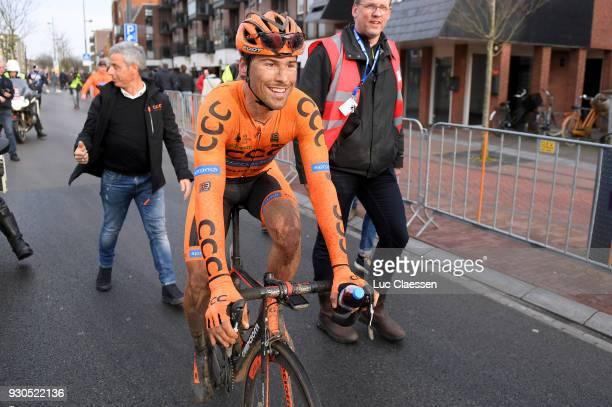 Arrival / Frantisek Sisr of Czech Republic / 56th Ronde van Drenthe 2018 a 194,2km race from Emmen to Hoogeveen on March 11, 2018 in Hoogeveen,...