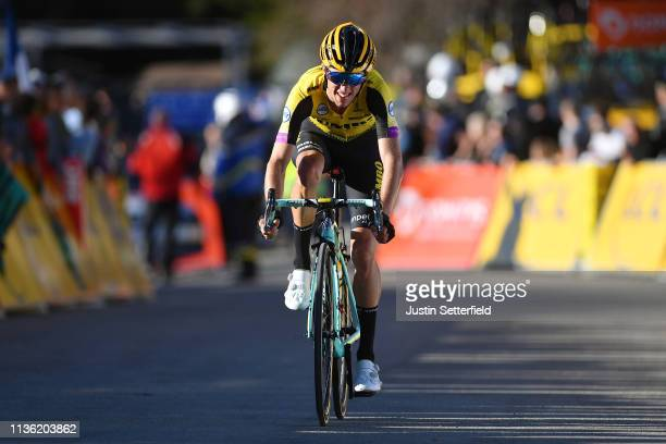 Arrival / George Bennett of New Zealand and Team Jumbo - Visma / during the 77th Paris - Nice 2019, Stage 7 a 181,5km stage from Nice to Col de...