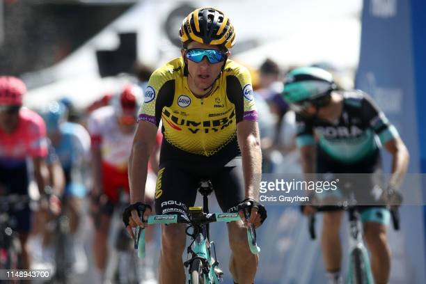 Arrival / George Bennett of New Zealand and Team Jumbo - Visma / during the 14th Amgen Tour of California 2019, Stage 2 a 214,5km stage from Rancho...