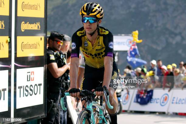 Arrival / George Bennett of New Zealand and Team Jumbo-Visma / during the 106th Tour de France 2019, Stage 14 a 117km stage from Tarbes to Tourmalet...