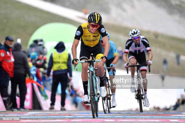 Arrival / George Bennett of New Zealand and Team LottoNL-Jumbo / during the 101th Tour of Italy 2018, Stage 9 a 225km stage from Pesco Sannita to...